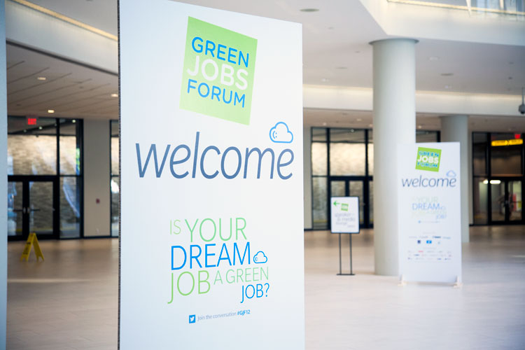 Welcome to the 2012 Green Jobs Forum
