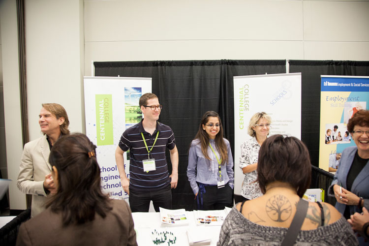 Centennial College at the Job-Pavilion