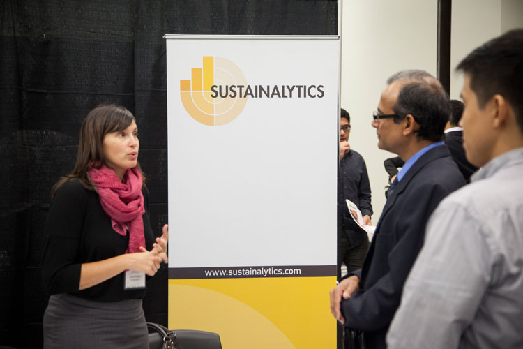 Sustainalytics at the Job Pavilion