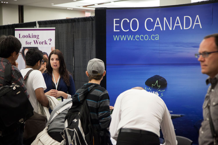 Eco Canada at the Job Pavilion