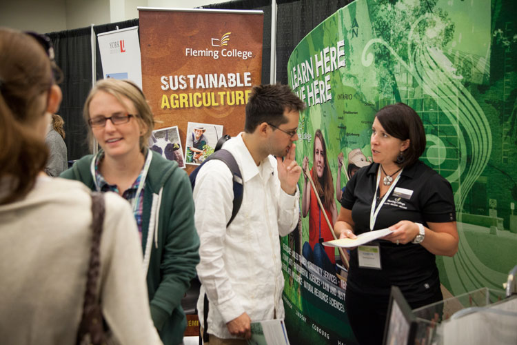 Fleming College at the Job Pavilion