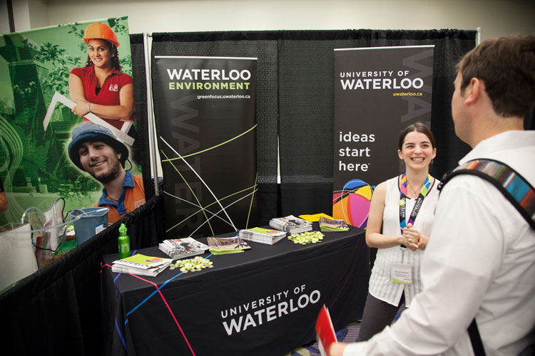 University of Waterloo at the Job Pavilion
