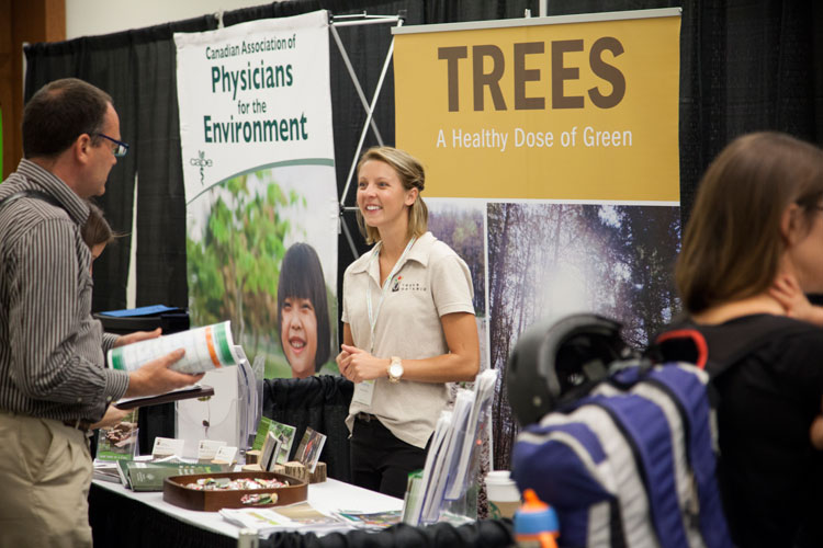 Trees Ontario at the Job Pavilion