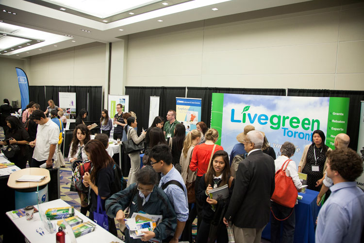 Live Green Toronto at the Job Pavilion