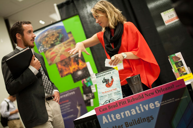 Alternatives Journal at the Job Pavilion