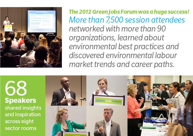 The 2012 Green Jobs Forum was a huge success!